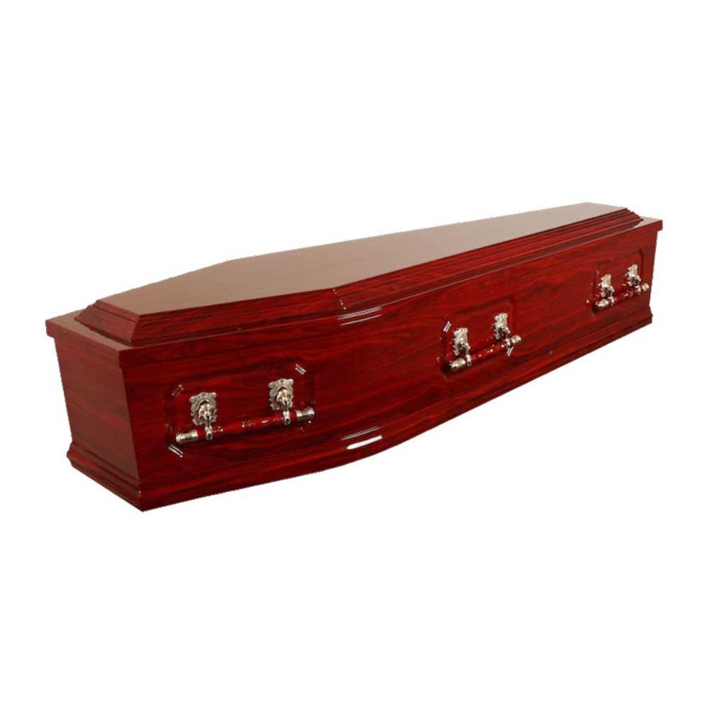 Davidson Double Raised Lid Coffin